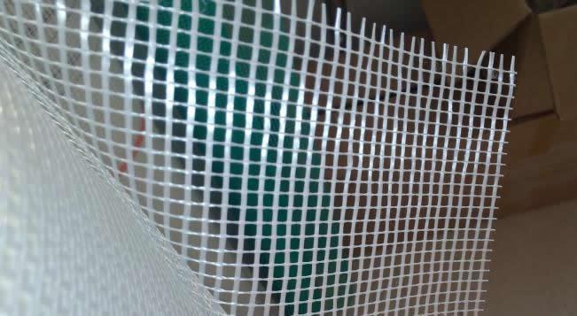 Coated Fiberglass Mesh Reinforcing Concrete Structural