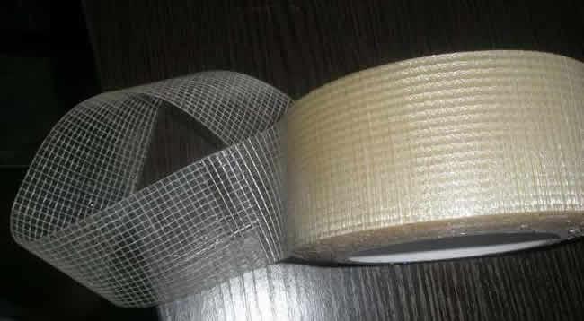 Adhesive Drywall Tape : Fiberglass mesh drywall plaster joint tape rolls